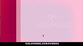 SisLovesMe - Horny Stepsis Fucked By Creepy Brother