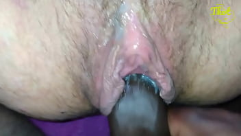 Thot in Texas - Interracial Creampie Two Creampies African American Ebony Mexican American Latina