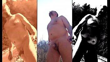 nudist fun with water sports