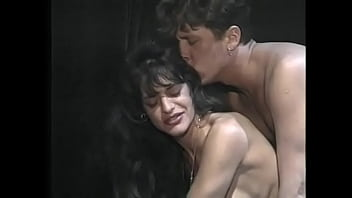 """Watch guy fuck brunette MILF Brigitte Aime in her hairy pussy after getting blown <span class=""""duration"""">19 min</span>"""