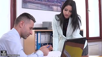 Secretary fucks her big cocked boss # Emily Brix