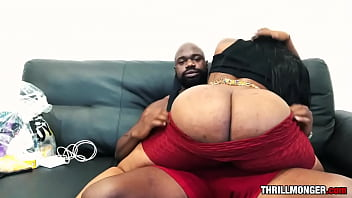 Thrilly's Big Black Couch - Ms London
