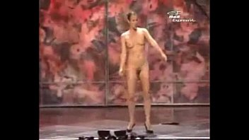 Lads stripped naked - Dubstep naked magic show