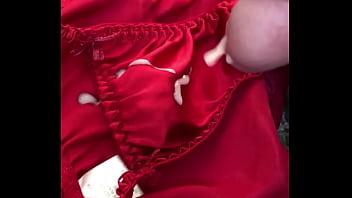 Cum over panties