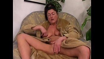 Pretty and hot milf's onanism # 6