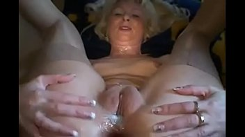 Make wife cum twice - Mature maid make him cum twice