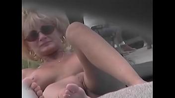 Nude Beach Voyeur Video - Cougar MILF Naked At ...