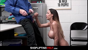 Big Tits MILF Shoplifter Mckenzie Lee Fucked By Officer For Freedom