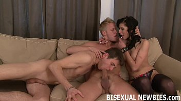 Gay sexual fantasy stories - I am going to make your bisexual threesome really special
