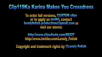 Clip 119Ka Karina Makes You Crossdress - Full Version Sale: $8 thumbnail