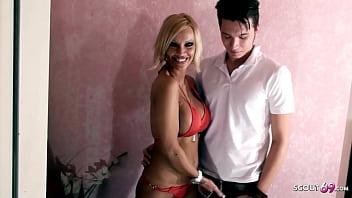GERMAN COUGAR KADA LOVE DEFLORATION SEX WITH YOUNG BOY