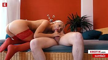 Blonde HELENA MOELLER is craving for a fan BANG (German) (FULL SCENE) → helena.erotik.com
