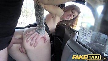 Fake Taxi Busty brunette gets her arse stretched in deep anal fuck