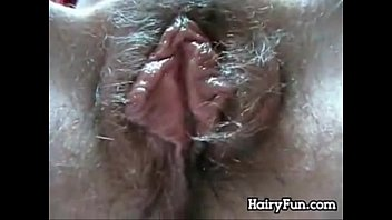 Adult espresso stand closed - Hairy pussy enjoying an adult toy close up