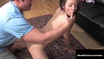 Hard Cock Gaping Anal Penetration With Tight 18yo Teen Ashlyn Leigh! 10 min