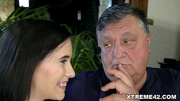 Hot Young Sizzler Nikki Fox Banged by Old Guy