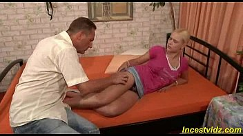daddy fucks his beauty blonde daughter 15 min