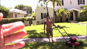 BAIT BUS - Asian Straight Bait Hunter Vance Was Mowing A Lawn; We Made Him An Offer He Could Not Refuse