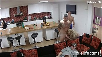 Sexual cases - Hot couple fooling around in front of their friends