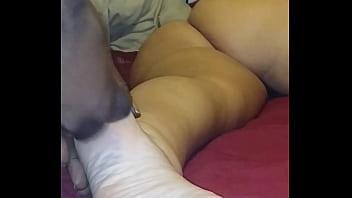 cum on my gf sleeping feet 4 fat ass