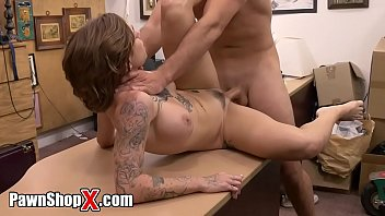 Harlow Harrison Brings Her Tattooed Big Tits Into My Pawn Shop