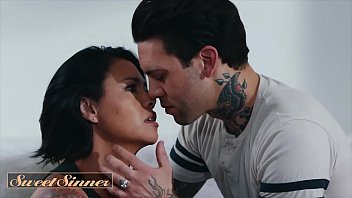 Streaming Video Asian milf (Dana Vespoli) rides inked stud (Small Hands) - Sweet Sinner - XLXX.video
