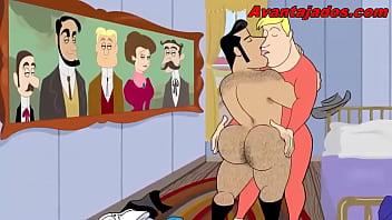 Porno gay cartoon Cartoon