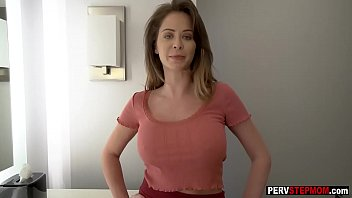 Pretty stepmom thought about guys cock and got caught