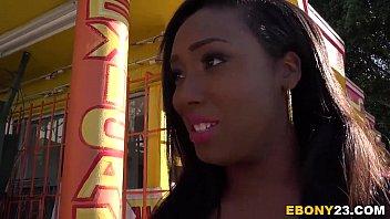 Busty Ebony Lisa Tiffian Gets DP'd thumbnail