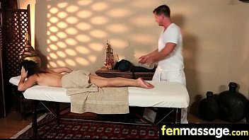 Husband Cheats with Masseuse in Room! 11