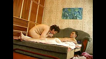 Husband eats creampie - Russian mature with young boy hiddencam thumbnail