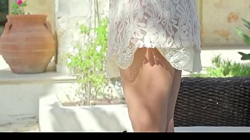 Hot Argentinian Babe Stripping Outside on Sofa - xdance.stream 8 min