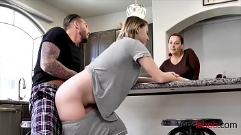 Dad And Daughter Fall Into Lusty Rhythm- Cara May