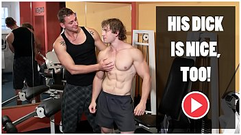 GAYWIRE - Bareback Sex and Big Muscles In A Public Gym