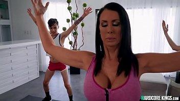 Huge Tits Milf Yoga Instructor Fuck