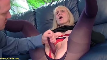first deep anal for 85 years old granny thumbnail