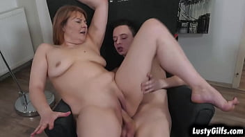 Mature Chick Christine White Is Feeling Very HORNY In Her Black Lingerie And After Seeing Her Stud Nikki,there Is No Way That She Cant Be Fucked