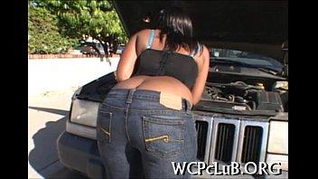 Black fellow bangs white gal