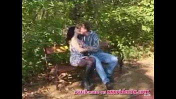 قرنية زوجين الملاعين في الحديقة