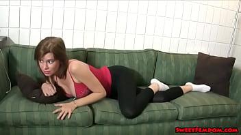 Your girlfriends friend teases you in chastity LEGGINGS TEASE Vorschaubild