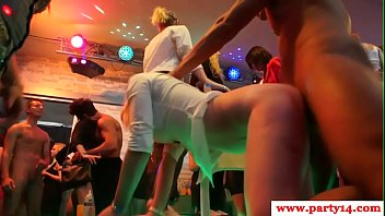 Gorgeous babes pounded by male strippers