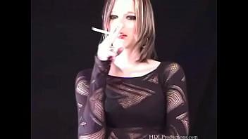 Krystal Knight - Smoking Fetish at Dragginladies