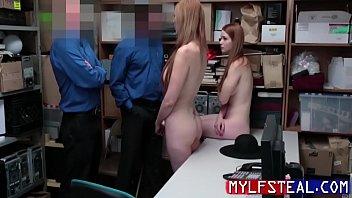 MILF Mom And Daughter Fuck Cop As Punishment- Lauren Phillips, Scarlett Snow 8分钟