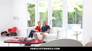 FamilyStrokes - Fathers Day Gift From Cute Horny Step-Daughter thumbnail