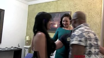 two couples having sex in the same bed 2 min