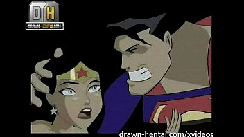 Black woman domination cartoon Justice league porn - superman for wonder woman