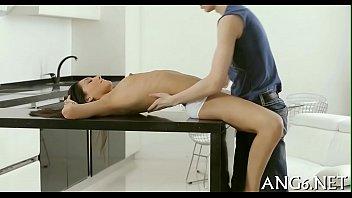 Sampling beautys tits and bawdy cleft thumbnail