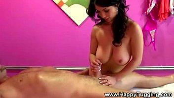 Asian masseuse starts massage extras off
