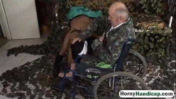 Amputee Fucking Brunette Teen Riding Wheelchairk-hi-1