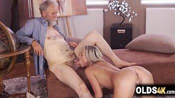 Cute Teen And Horny Grandpa Spending Quality Time -Shanie Ryan
